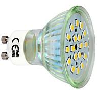 3W GU10 תאורת ספוט לד 18 SMD 2835 260 lm לבן חם AC 220-240 V