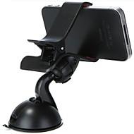 スマホホルダー・スタンドマウント 車載 360°ローテーション プラスチック for 携帯電話