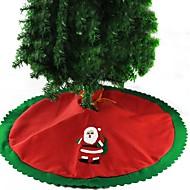 abordables Adornos de Navidad-1 juego Santa Faldas de Árbol Navidad Novedades Fiesta, Decoraciones de vacaciones Adornos navideños