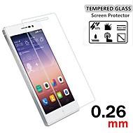 tanie Folie ochronne-9h premii 0.26mm Shatter ekran anty-szkło hartowane folia ochronna do Huawei Ascend P7