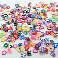 cheap Nail Art-300 Fruit Fimo Decoration Kits Abstract Fashion Lovely High Quality Daily