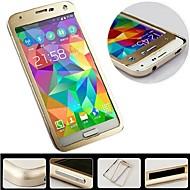For Samsung Galaxy etui Stødsikker Etui Bagcover Etui Helfarve Aluminium Samsung S5