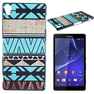 Blue Stripes Pattern PC Hard Case for Sony Z1 L39H Cases / Covers for Sony