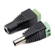 led ampuller için erkek ve KIZ DIR konnektör ışık 3528smd 5050smd açtı Powe kaynağı şerit