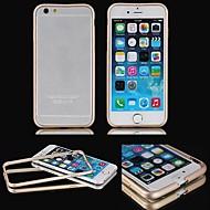 abordables 50% de DESCUENTO y Más-Funda Para iPhone 6s Plus iPhone 6 Plus Apple iPhone 6 Plus Marco Antigolpes Dura Metal para iPhone 6s Plus iPhone 6 Plus