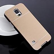 2 в 1 металла щеткой жесткий чехол для Samsung Galaxy i9600 s5