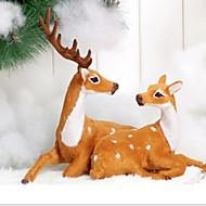 お買い得  インテリア用品-1個 Santa 飾り, ホリデーデコレーション 34.0*10.0*24.0
