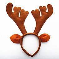 クリスマスパーティーかわいい鹿の鹿の帽子の髪の頭のバンド33 * 34 * 4センチメートル