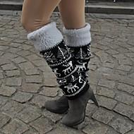 voordelige Sportkleding-Ski Beenwarmers/Beenstukken Sokken/Fietssokken Dames Warm Houd Warm Winddicht Ademend lumenpitävä Snowboard Flora / Botanisch Skiën