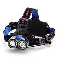 Belysning Hodelykter LED 1600 Lumens 4.0 Modus Cree XM-L T6 18650 / AAA Glidesikkert GrebCamping/Vandring/Grotte Udforskning / Sykling /