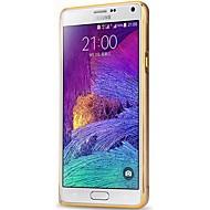 Mert Samsung Galaxy Note Ütésálló Case Védőkeret Case Egyszínű Alumínium Samsung Note 4