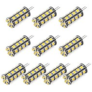 abordables Luces LED de Doble Pin-1pc 352 lm G4 Luces LED de Doble Pin 30 Cuentas LED SMD 5050 Blanco Cálido / Blanco Fresco 12 V / Cañas