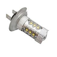 H7 Coche Blanco 80W LED Integrado    LED de Alto Rendimiento 6500-7000 Faros Antiniebla