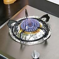 10 szt wielofunkcyjny o wysokiej temperatury folia aluminiowa olejoodporny (losowy kolor)
