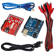 funduino makey berøringsknapp kit usb skjold analog berøringstastatur for Arduino