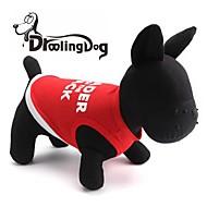 levne -krásné dopisy vzor 100% bavlna vesta pro domácí zvířata psy (mix velikostí)