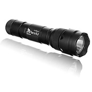 cheap Flashlights, Lanterns & Lights-LS152 Black Light Flashlights/Torch LED 400/500/900/1000 lm 1 5 Mode Cree XM-L U2 Cree XM-L2 T6 Impact Resistant Nonslip grip Strike Bezel