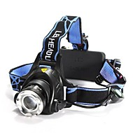 preiswerte Taschenlampen, Laternen & Lichter-1200 lm Stirnlampen LED 3 Modus LS059 - Zoomable- / Wasserfest / einstellbarer Fokus