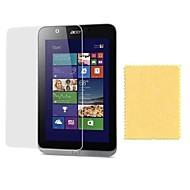 preiswerte Tablet Zubehör-Displayschutzfolie für Acer W4-820 Haustier 1 Stück ultra dünn