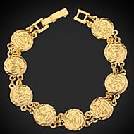 halpa -Naisten Ranneketjut Amuletti-rannekorut Platinum Plated Gold Plated Korut Häät Party Päivittäin Kausaliteetti Urheilu Pukukorut