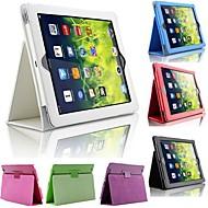 abordables 50% de DESCUENTO y Más-Funda Para iPad Air con Soporte Funda de Cuerpo Entero Un Color Cuero de PU para iPad Air