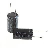 ηλεκτρολυτικό πυκνωτή 4700uf 63V (2τμχ)