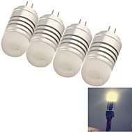 G4 Bombillas LED de Mazorca T 8 leds SMD 3014 Decorativa Blanco Cálido Blanco Fresco 120lm 3000K DC 12 AC 12V