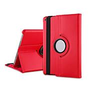 abordables Liquidación-Funda Para iPad Air con Soporte Rotación 360º Funda de Cuerpo Entero Color sólido Cuero de PU para iPad Air