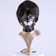 halpa Cosplay-Mask Innoittamana Tokio Ghoul Cosplay Anime Cosplay-Tarvikkeet Mask Musta Sifonki Uros / Naaras