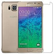 Πριμοδότηση 2.5D οθόνη γυαλί με προστατευτικό φιλμ για το Samsung Galaxy alphaf g850f / g8508