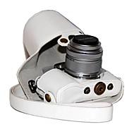 Digital Kamera-Fodral- tillOlympus-En-axel- medDammsäker-Svart Röd Kaffe Brun