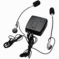 motocicleta wi10 interfono por cable interfono walkie talkie para conductor y acompañante jinete apoyo mp3