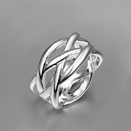 お買い得  -女性用 指輪  -  純銀製, シルバー ステートメント シルバー / スクリーンカラー 用途 日常
