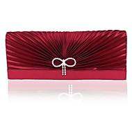 女性 バッグ シルク イブニングバッグ のために イベント/パーティー ブラック クラレットレッド ライトゴールド バイオレット ライトブラウン