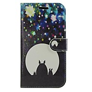 For Huawei Case Wallet / Card Holder / with Stand / Flip Case Full Body Case Cartoon Hard PU Leather Huawei Y530