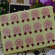 estilo coreano multifunción sellado decorativos pegatinas bricolaje hornear (15 Pegatinas / pcs) (letra: mano maquillaje)