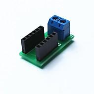Arduinoのためのワイヤーケーブル接続端子モジュール - 黒+ブルー