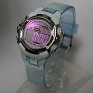 Niño Reloj de Moda Reloj de Pulsera Reloj digital Cuarzo Digital Plastic Banda Azul Naranja Morado Naranja Morado Azul