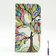 Για Θήκη LG Θήκη καρτών / Πορτοφόλι / με βάση στήριξης / Ανοιγόμενη tok Πλήρης κάλυψη tok Δέντρο Σκληρή Συνθετικό δέρμα LGLG G3 / LG G3