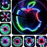 Bike Lights Wheel Lights LED Cree Cycling Waterproof Programmable LED Light AAA Lumens USB Cycling/Bike