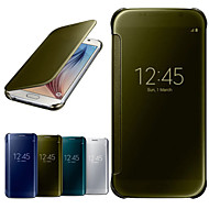 Okno lustro siłowni luksusowe case full body dla Samsung Galaxy S6 g9200