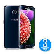 (3 шт) Прозрачная пленка протектора экрана для Samsung Galaxy s6 g9200