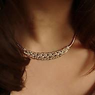 Dámské Obojkové náhrdelníky / Vintage náhrdelník / tetování obojek - Postříbřené, Pozlacené dámy, Tetování, Módní Stříbrná, Zlatá Náhrdelníky Šperky 1ks Pro Svatební, Párty, Denní, Ležérní