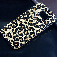 For Samsung Galaxy etui Mønster Etui Bagcover Etui Leopardmønster PC for Samsung S6 edge