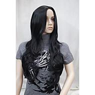 お買い得  -人工毛ウィッグ ウェーブ バング付き 女性用 キャップレス 合成
