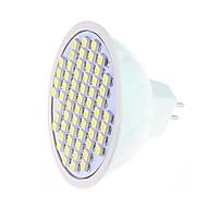 お買い得  LED スポットライト-360-750 lm LEDスポットライト MR16 60LED LEDの SMD 3528 温白色 クールホワイト AC 220-240V