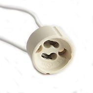 단일 커넥터 배선 gu10 램프 홀더 고품질 조명 액세서리
