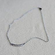お買い得  -女性用 チョーカー  -  イミテーションダイヤモンド ネックレス ジュエリー 用途 日常