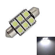 abordables Otras Luces LED-1.5W 100-150 lm Festón Luces Decorativas 6 leds SMD 5050 Blanco Fresco DC 12V