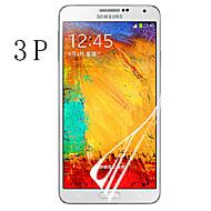 Недорогие Защитные пленки для Samsung-Защитная плёнка для экрана Samsung Galaxy для PET Защитная пленка для экрана HD